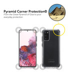 SoSkild SoSkild Samsung Galaxy S20 Defend 2.0 Heavy Impact Case Transparant