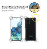 SoSkild SoSkild Samsung Galaxy S20 Plus Defend 2.0 Heavy Impact Case Transparant