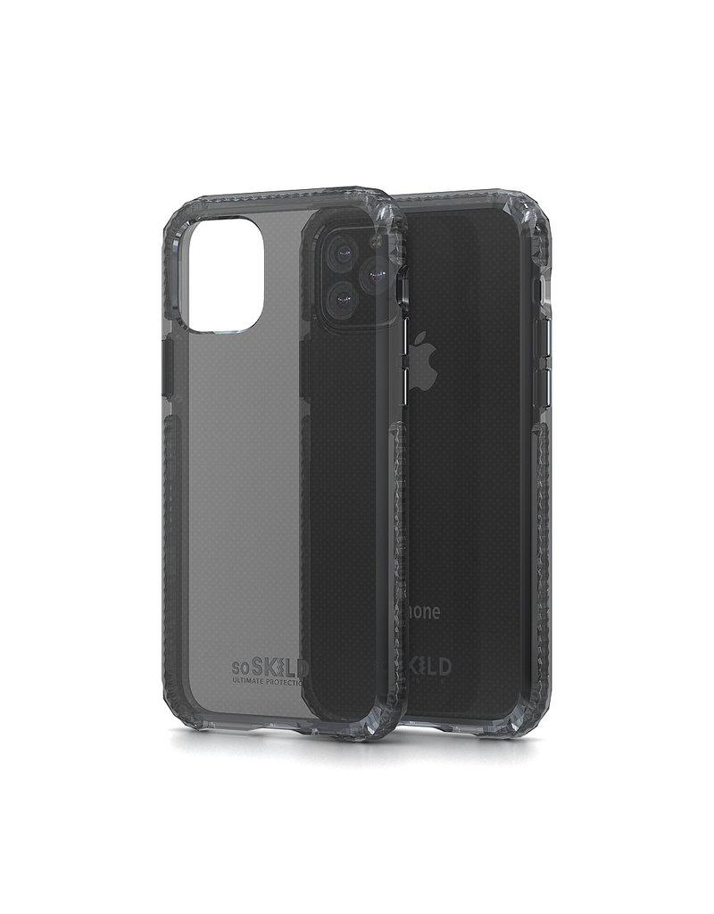 SoSkild SoSkild Defend Heavy Impact Case Smokey Grey voor iPhone 11 Pro
