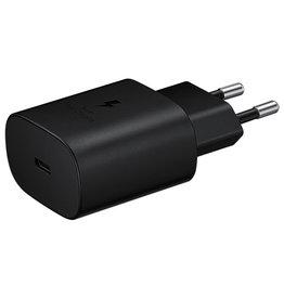 Samsung Samsung Fast Charging Adapter USB-C 25W Zwart