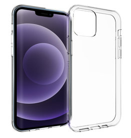 Accezz Accezz Clear Backcover Transparant iPhone 13