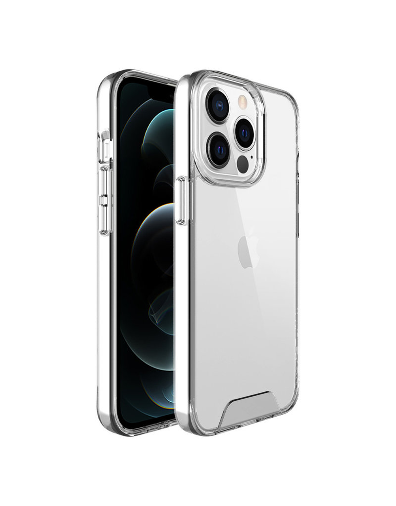 Accezz Accezz Xtreme Impact Backcover voor de iPhone 13 Pro Max Transparant
