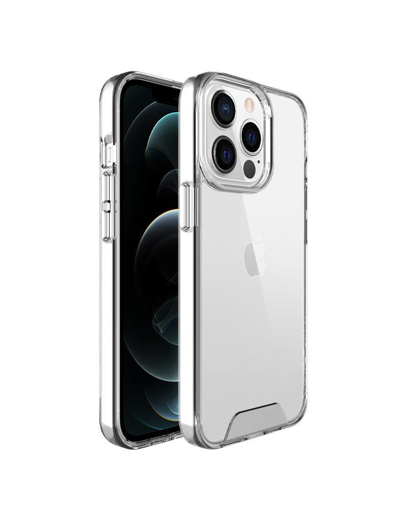 Accezz Accezz Xtreme Impact Backcover voor de iPhone 13 Pro Transparant
