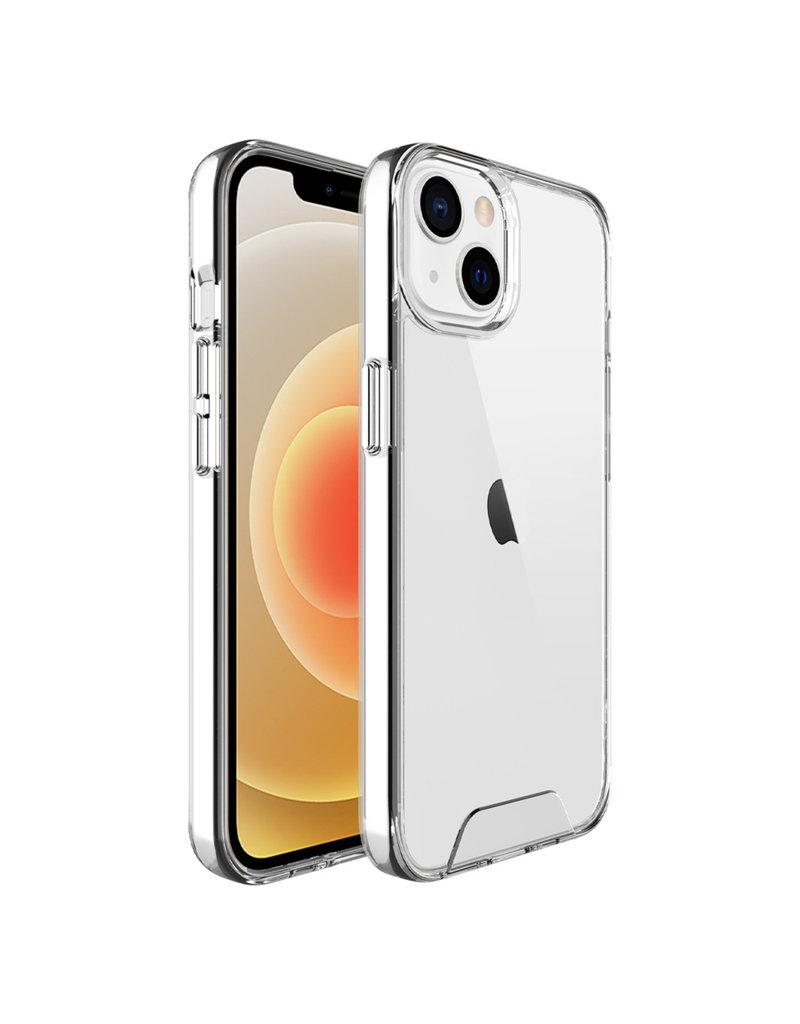 Accezz Accezz Xtreme Impact Backcover voor de iPhone 13 Mini Transparant
