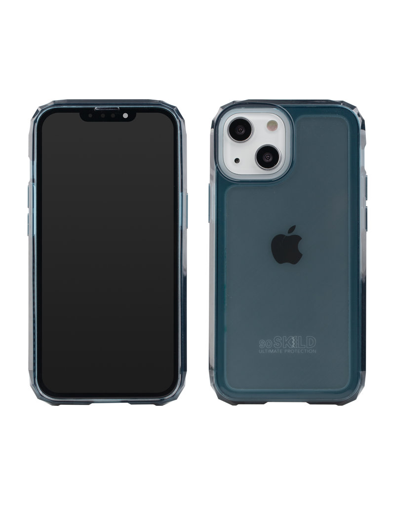 SoSkild SoSkild Defend 2.0 Heavy Impact Case Smokey Grey iPhone 13 Mini