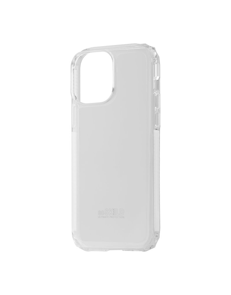SoSkild SoSkild Defend 2.0 Heavy Impact Case Transparant iPhone 13 Pro