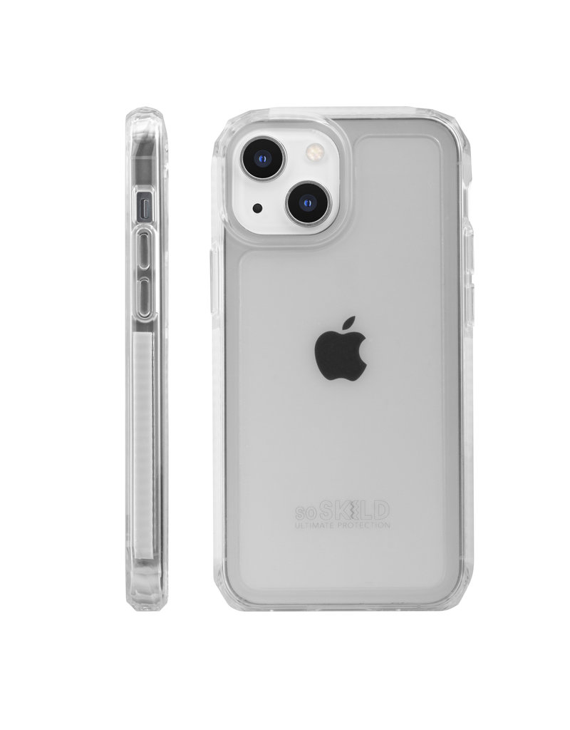 SoSkild SoSkild Defend 2.0 Heavy Impact Case Transparant iPhone 13