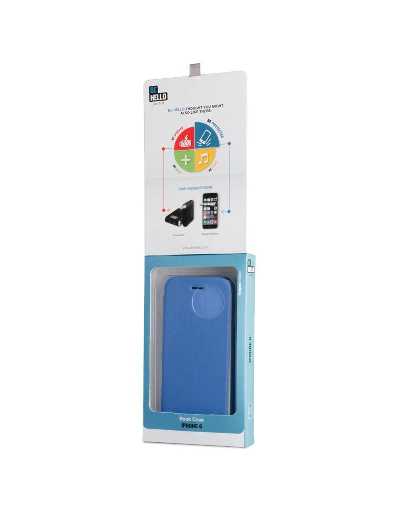 BeHello iPhone 6 / 6S BeHello Book Case Blauw