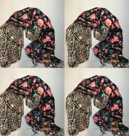 SHAWL BLOEM PANTER