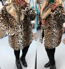 PANTER COAT LUXE MATEN 44 TOT 52