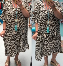 PANTER IBIZA FLING DRESS MATEN 44 TOT 54