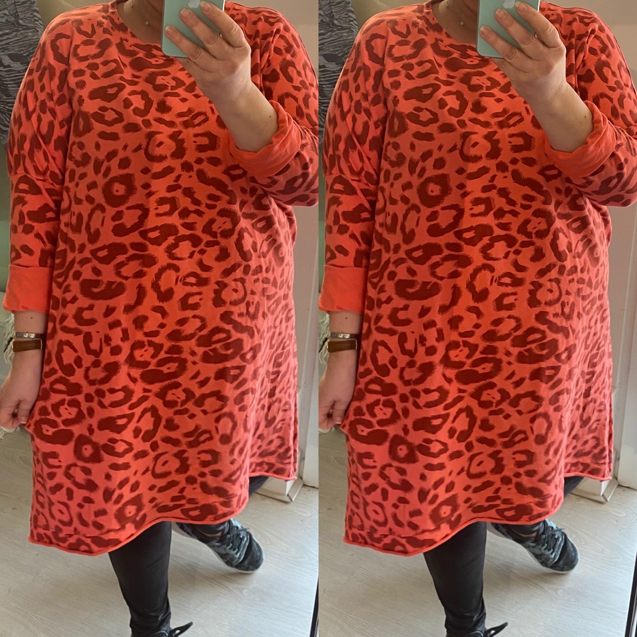 SWEATER DRESS SPRING MATEN 48 TOT 54