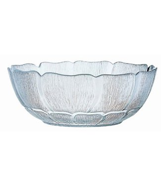 Luminarc Fleur - Salad bowl - Transparent - 27cm - Glass - (Set of 3)