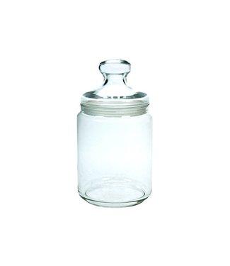 Luminarc Pot Club - Storage jar With Lid - 0.28 Liter - Glass - (set of 6)