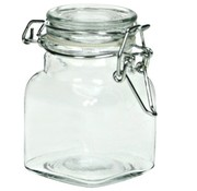 Cosy & Trendy Bokaal Met Clip 11cl D4,5xh9cm Vierkantig Glas (set van 12)
