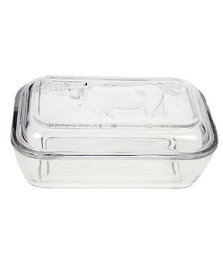 Luminarc Butter pot - Transparent - Glass.