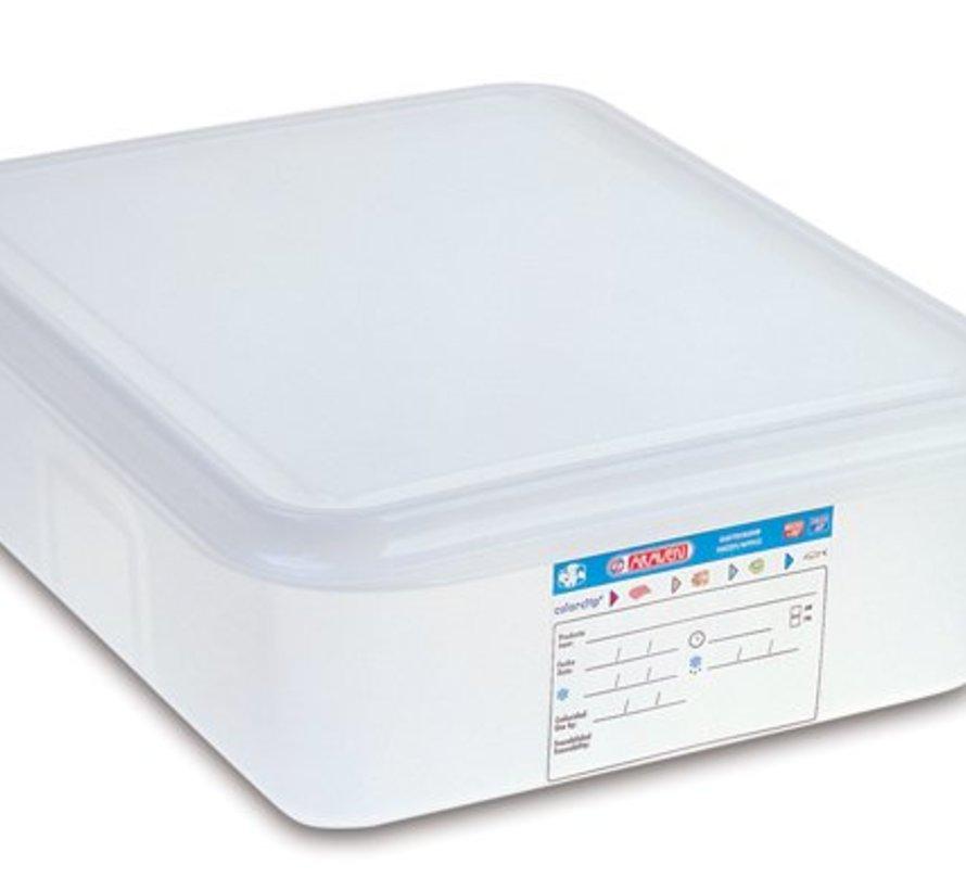 Vershouddoos Herm. Gn1-2 6,5l H10cm Polypropyleen (set van 6)
