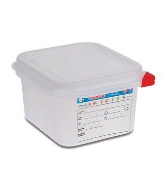 Araven Vershouddoos Herm. Gn1-6 1,7l H10cm Polypropyleen Gn1-6