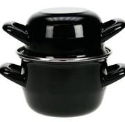 Cosy & Trendy For Professionals Mussel Casserole D12cm Black-0,5kg-0,9lnew (set of 6)
