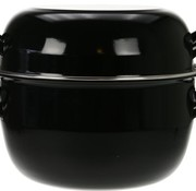 Cosy & Trendy For Professionals Horeca Mosselpot 4kg Zwart Nieuw D24cm5l