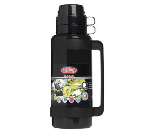 Thermos Mondial Isolierflasche 1.8l Schwarzd13xh38cm