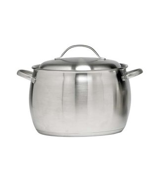 Cosy & Trendy Co&tr Thymo Soup Pot 24cm 18/10 H18cmbody:0.6-bott 5.7 Alu-lid 1mm All Hobs