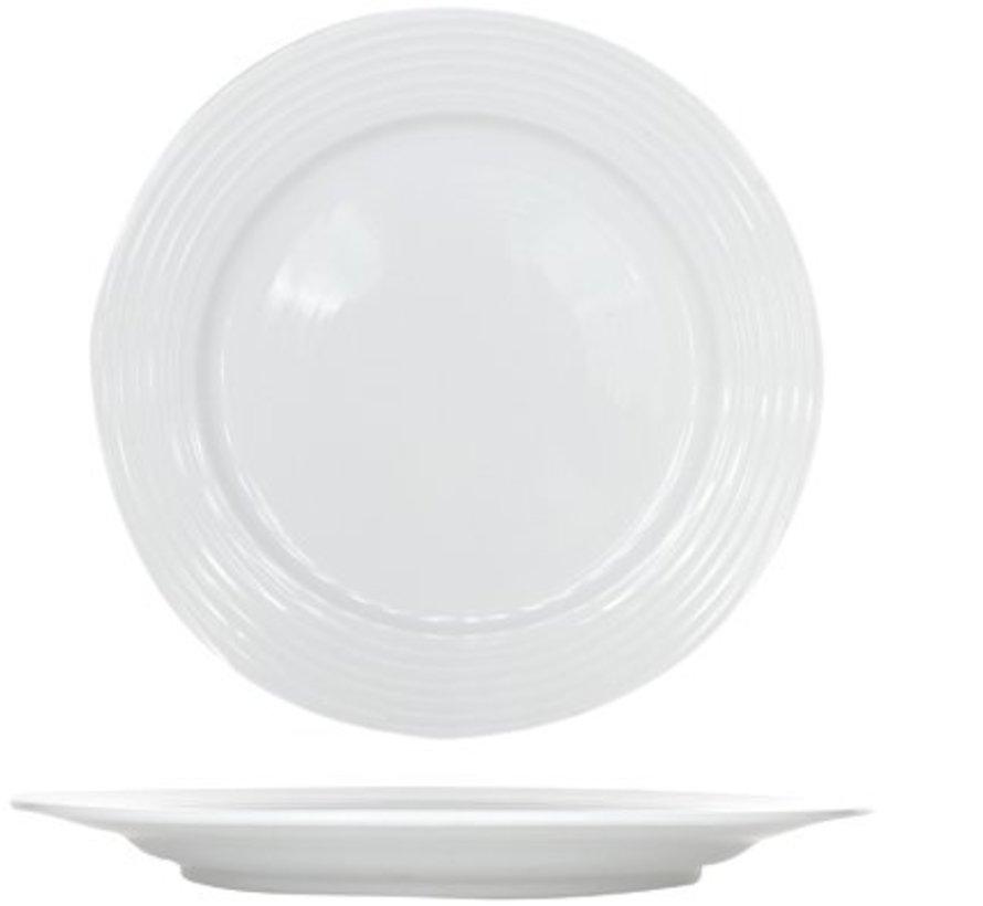 Linea White Dessertteller D20.5cm (6er Set)