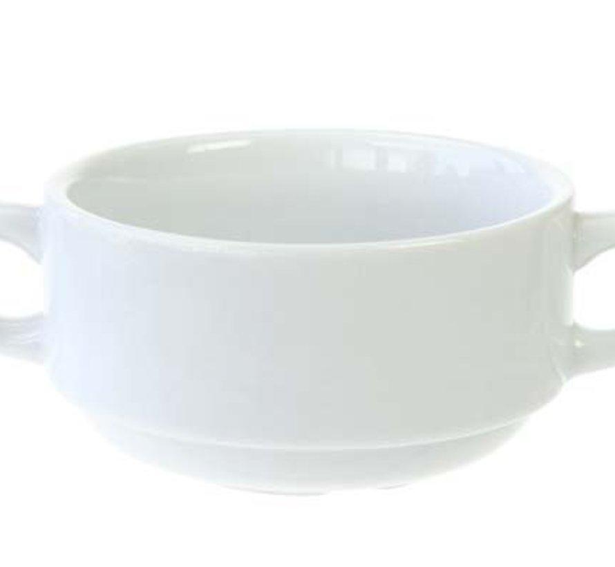 Everyday White Soeptas D10,5xh5,5cmstapelbaar (set van 6)