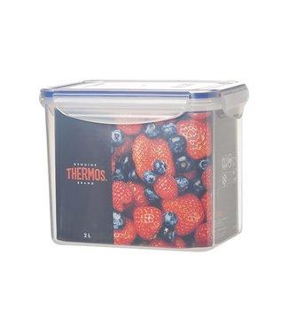 Thermos Airtight Container Rectangle 2000 Ml18x13xh14.5cm