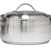 Cosy & Trendy Co&tr Thymo Cooking Pot 22cm 18/10 H16cmbody:0.6-bott 5.7 Alu-lid 1mm All Hobs