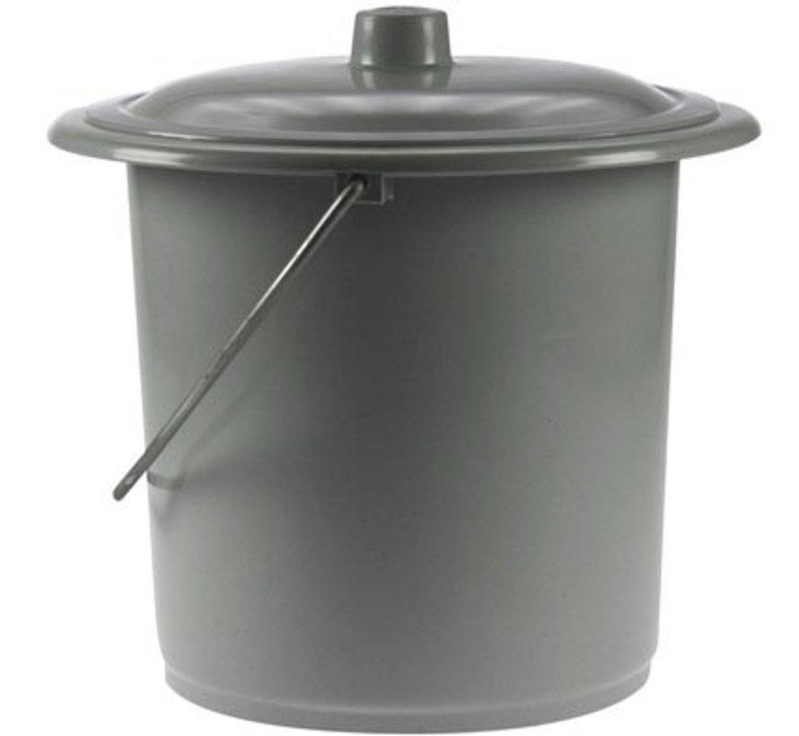 Toiletemmer 12,5l D24cm H30cmh30cm-dia24cm
