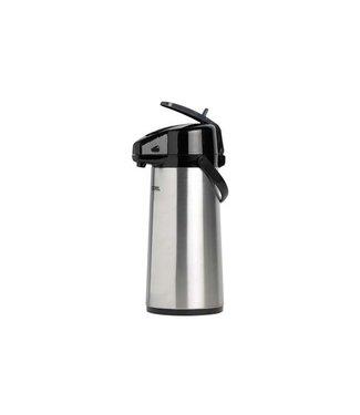 Thermos Pumpenthermosflasche - 2,2 l - 20 x 15 x 38 cm - Inox