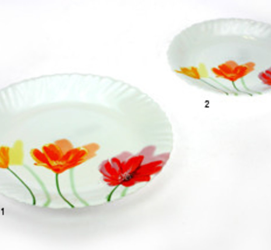 Flowerly Dessertbord