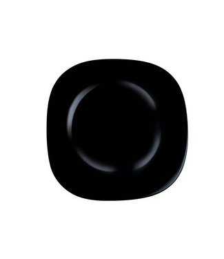 Luminarc Carine Noir Plat Bord 27 Cm (set of 6)