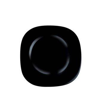 Luminarc Carine Noir Plat Bord 27 Cm (set van 6)