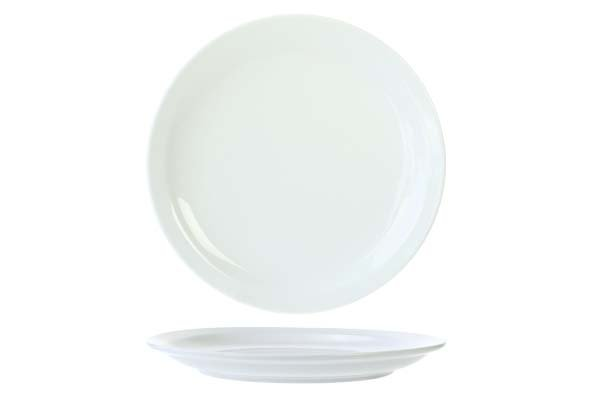 Cosy & Trendy Everyday White Plat Bord 23,5cm (set van 6)