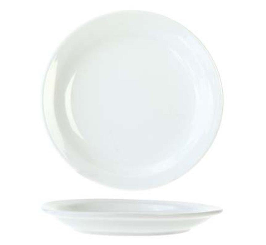 Everyday White Plat Bord 16cm (set van 6)