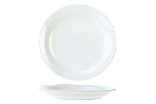Cosy & Trendy Everyday White Plat Bord 16cm (set van 6)
