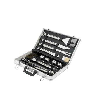 Cosy & Trendy Bbq Set In Aluminium Koffertje 21dlg