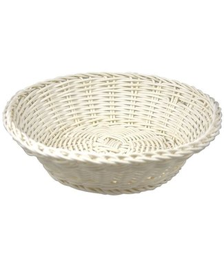 Cosy & Trendy For Professionals Ct Prof Basket White Round D20xh8cmplastic (set of 6)