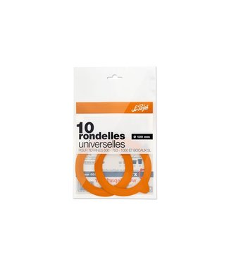 Le Parfait Super - Pickling rings - D100mm - (Set of 30)