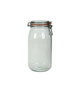 Le Parfait Super - Preservative jar - 3 Liter - D10cm - (Set of 6)