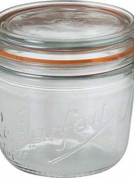 Le Parfait Preserving Jar 500ml D10cm S6 Le Parfait