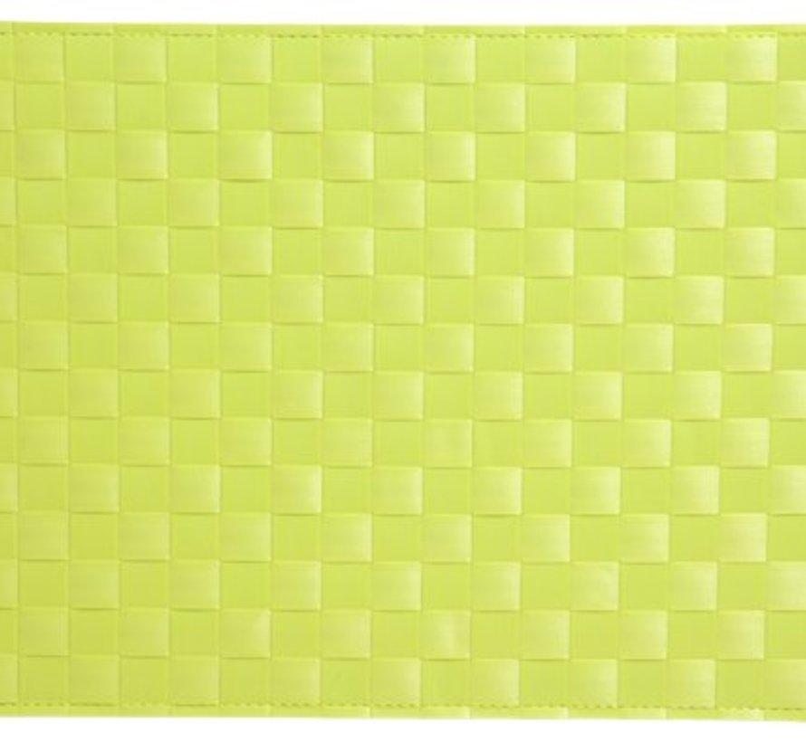 Placemat Cross Light Green 43x30cm