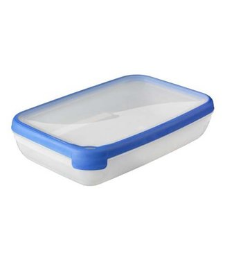 Curver Chef @ home Food container Transparent-blue 2,6L (set of 4)
