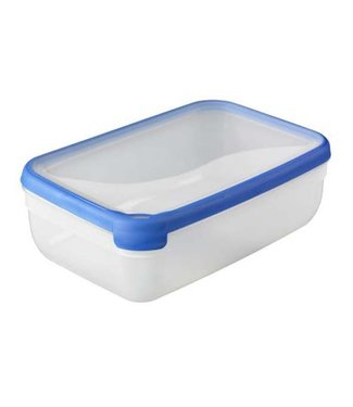 Curver Chef @ home Food container Transparent-blue 4,0L (set of 4)