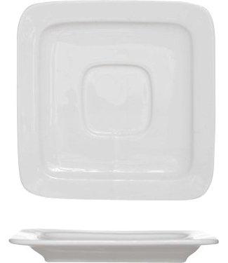 Cosy & Trendy Winston - Koffiebordje - 11,5x11,5cm - Porselein - (set van 6).