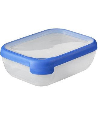 Curver Chef @ home Food container Tr-blue rs 1,2 liter rectangle (set of 5)