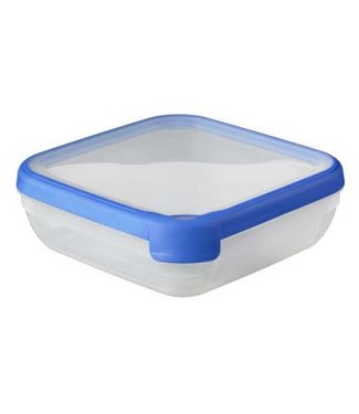 Curver Chef @ home Food container Trans-blue 1,5L 20x20x6,5cm Square (set of 6)
