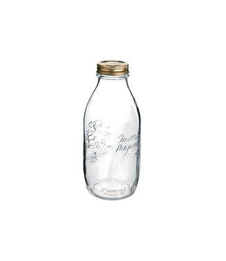 Bormioli Quattro Stagioni Bottle 1l Capsule (set of 12)